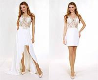 Свадебное платье-трансформер ручной работы P0620А (р.40-44)