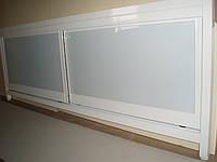 Экран под ванну белый глянец