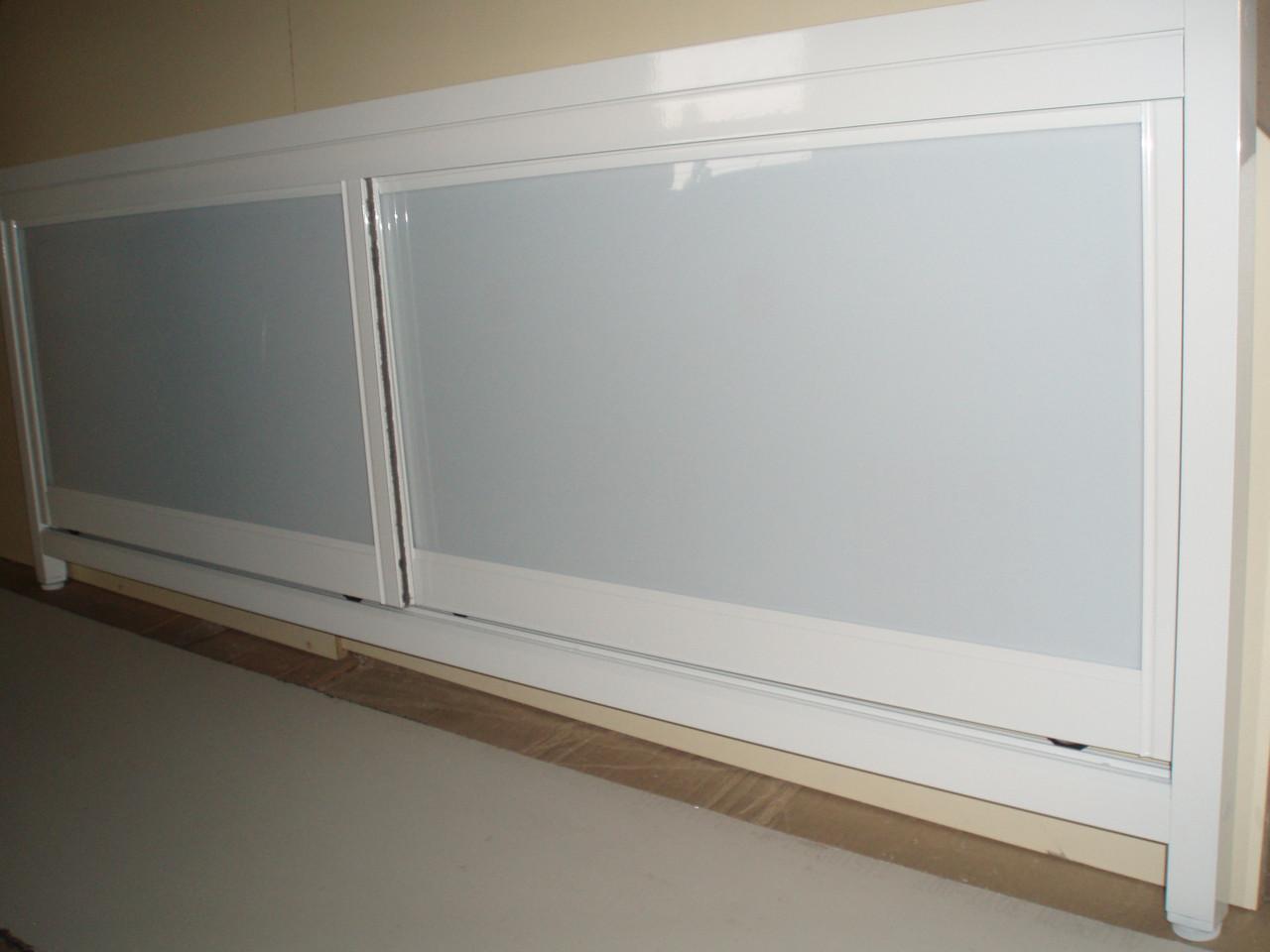 Белые экраны под ванну