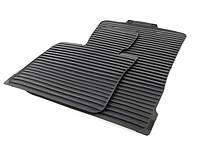 Коврики оригинальные передние для BMW X5 (E70), X6 (E71) резиновые черные (модель №1)