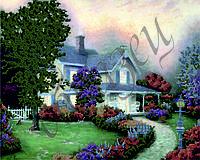 Схема для вышивки бисером Дом мечты КМР 3003