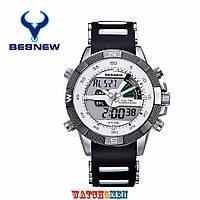 Мужские спортивные часы Besnew (WEIDE) Aqua Rubber White
