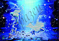 """Схема для вышивки бисером Серия """"Знаки Зодиака"""" Рыбы КМР 4026"""