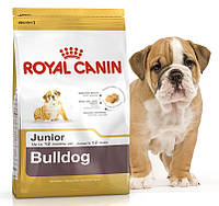 Сухой корм для щенков английских бульдогов до 12 месяцев Royal Canin Bulldog Junior 30
