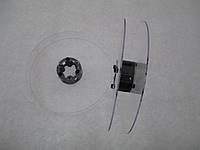 Катушка для мерных материалов : тесьма, ленты, шнуры.  (диаметр 121 мм диаметр катушки 35 мм ширина 19 мм)
