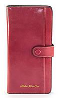 Яркий, оригинальный, по лучшей цене женский кошелек розового цвета FUERDANNI art. 882-3