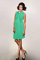Легкое платье для беременных из бастиста Мята