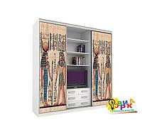 Виниловые наклейки на шкаф купе Египет