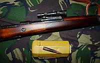 Магазинный карабин Mauser 98k СНАЙПЕРСКИЙ!!!  (ММГ) с оптическим прицелом и кофром!!!