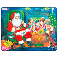 Дед Мороз с детьми, серия МАКСИ