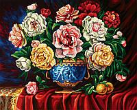 """Картины по номерам «Schipper» (9130362) художественный творческий набор """"Ваза с пионами"""", 50х40 см"""