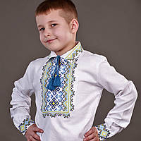 """Детская вышиванка для мальчика """"Украинский царевич"""""""