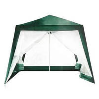 Садовый павильон-шатер с москитной сеткой