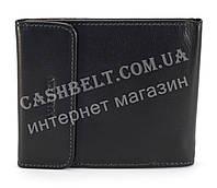 Кожаное, тонкое мужское прочное портмоне HASSION art. LF041 черный