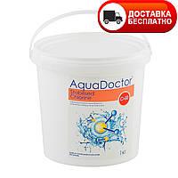 Химия для бассейна хлор-шок AquaDoctor C60 50кг, быстрый хлор в гранулах
