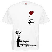 """Футболка """"Banksy (Бэнкси)"""". Граффити"""