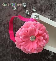 Повязка на голову для девочек с большим цветком | Код товара YLC-04