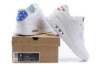 Кроссовки Nike Air Max 90 VT Independence Day белые