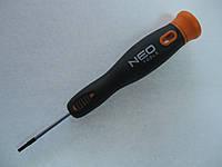 Отвертка-мини плоская, 2 x 40 мм, CrMo NEO