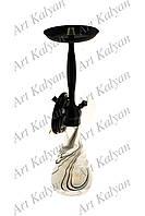Кальян Amy Deluxe 023 Smoky Bk- Black
