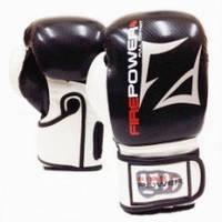 Перчатки для боксаFirePower FPBGA3Эко-кожаЧерный