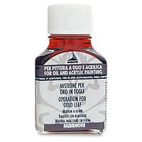 644 Мордан (микстион) масляный 75 мл вспомогательные материалы для золочения Idea Oro Maimeri Италия