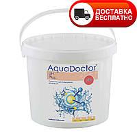 Химия для бассейна  AquaDoctor pH Plus 5 кг, средство для повышения уровня PH