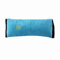 Дорожная подушка на ремень безопасности для детей