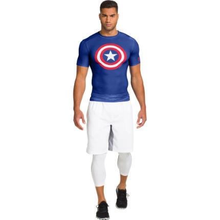 Under Armour - Компрессионный топ Капитан Америка из серии Alter Ego - картинка 2