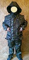 Костюм охотника-рыболова демисезонный Дюспобондинг на шерстяной основе