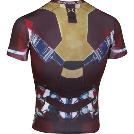 Under Armour - Компрессионный топ Transform Yourself Iron Man - картинка 2