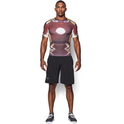 Under Armour - Компрессионный топ Transform Yourself Iron Man - картинка 3