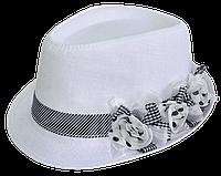 Шляпа женская красивая  Цветы
