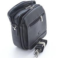Элитная мужская сумка. Стильная и практичная модель. Высокое качество. Интернет магазин. Код: КДН320