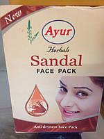 Маска для лица, для нормальной и сухой кожи лица, Сандал, Anti-dryness Face Pack, Sandal, Khadi / 25 g
