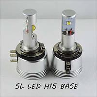 Комплект LED ламп SLP LED, H15 (PGS23t-1) Cree 25W Белый 6000K