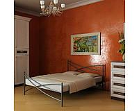 Кровать Лиана 1 (металлическая двуспальная, односпальная) ТМ Метакам