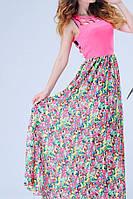 Женское платье с открытой спиной на лето