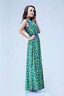 Платье с открытой спиной КР763