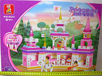 "Конструктор Sluban M38-B0251 Розовая мечта - ""Замок принцессы"""