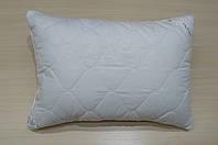 Подушка, чехол стеганый из микрофибры, хлопок, 50*70