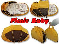 Складная сумка-кровать с матрасом и подушкой Picnic Baby - ART-0000127