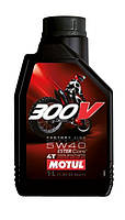Масло моторное Motul 300V 4T Factory Line Off Road 5W-40 1л