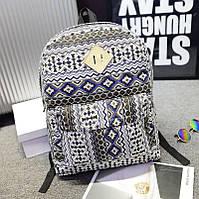 Яркий рюкзак на все случаи жизни. Оригинальный дизайн. Качественный рюкзак. Хороший принт. Купить. Код: КДН326