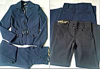 Детские брюки для девочки классические.