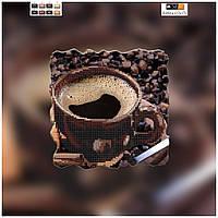 """Схема для вышивки бисером на холсте """"Чашка кофе - 1"""""""
