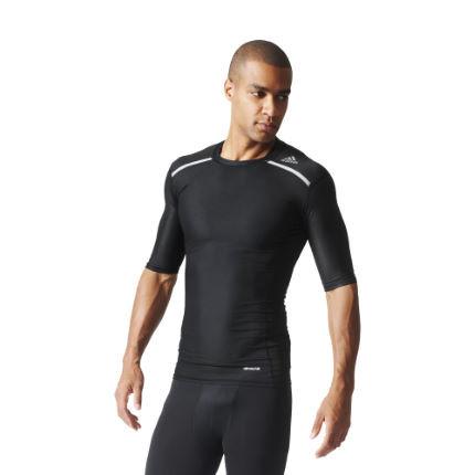 Adidas - Футболка Techfit Chill (короткий рукав, SS16) - картинка 2