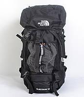 Місткий туристичний рюкзакThe North Face на 60 л (чорний )