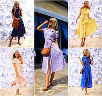 Платье-рубашка из натуральной ткани мод.188