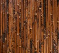 Бамбуковые обои  черепаховые коричневые, ширина 250 см.